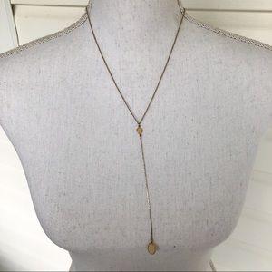 Long gem necklace